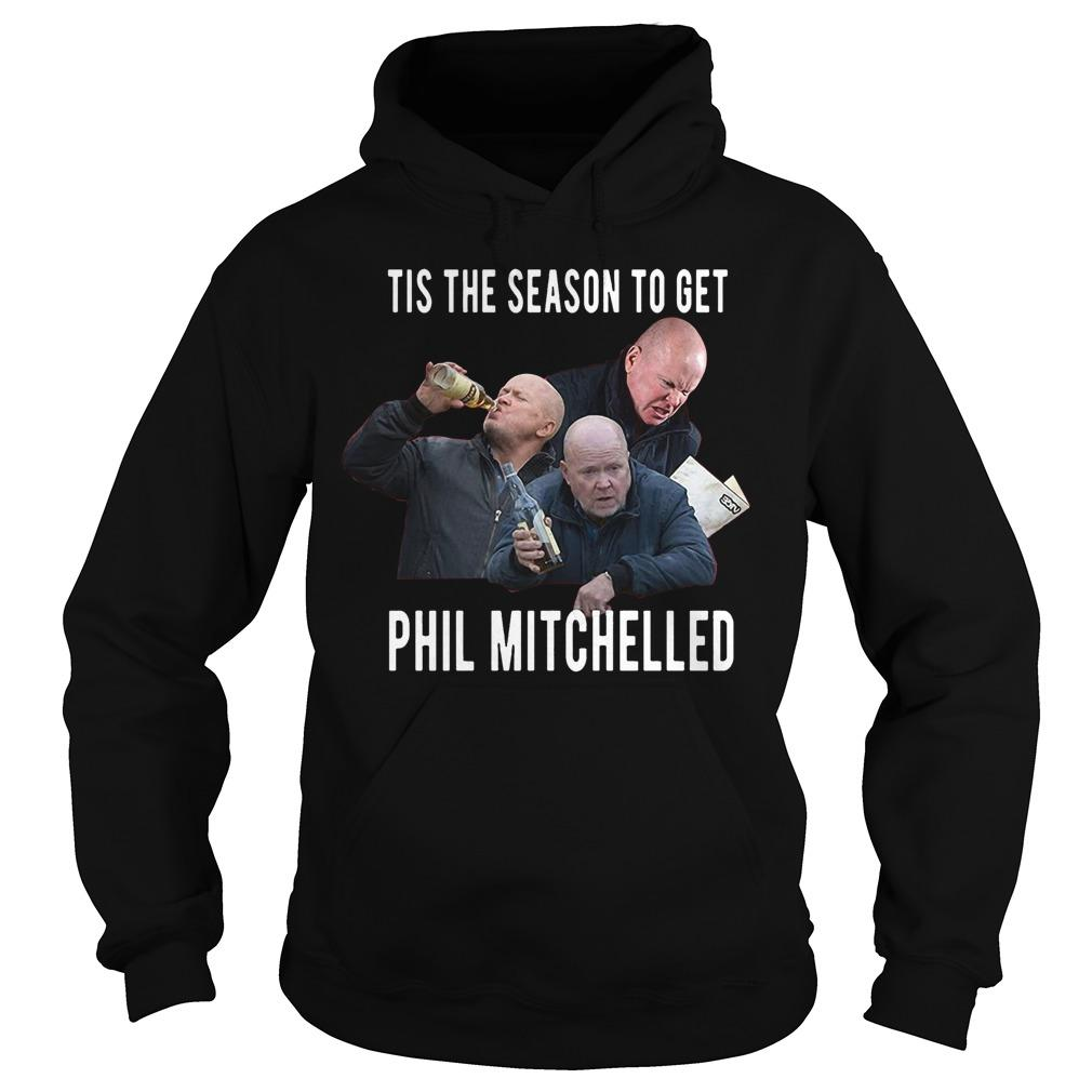 Christmas Jumper Tis The Season To Get Phil Mitchelled Hoodie