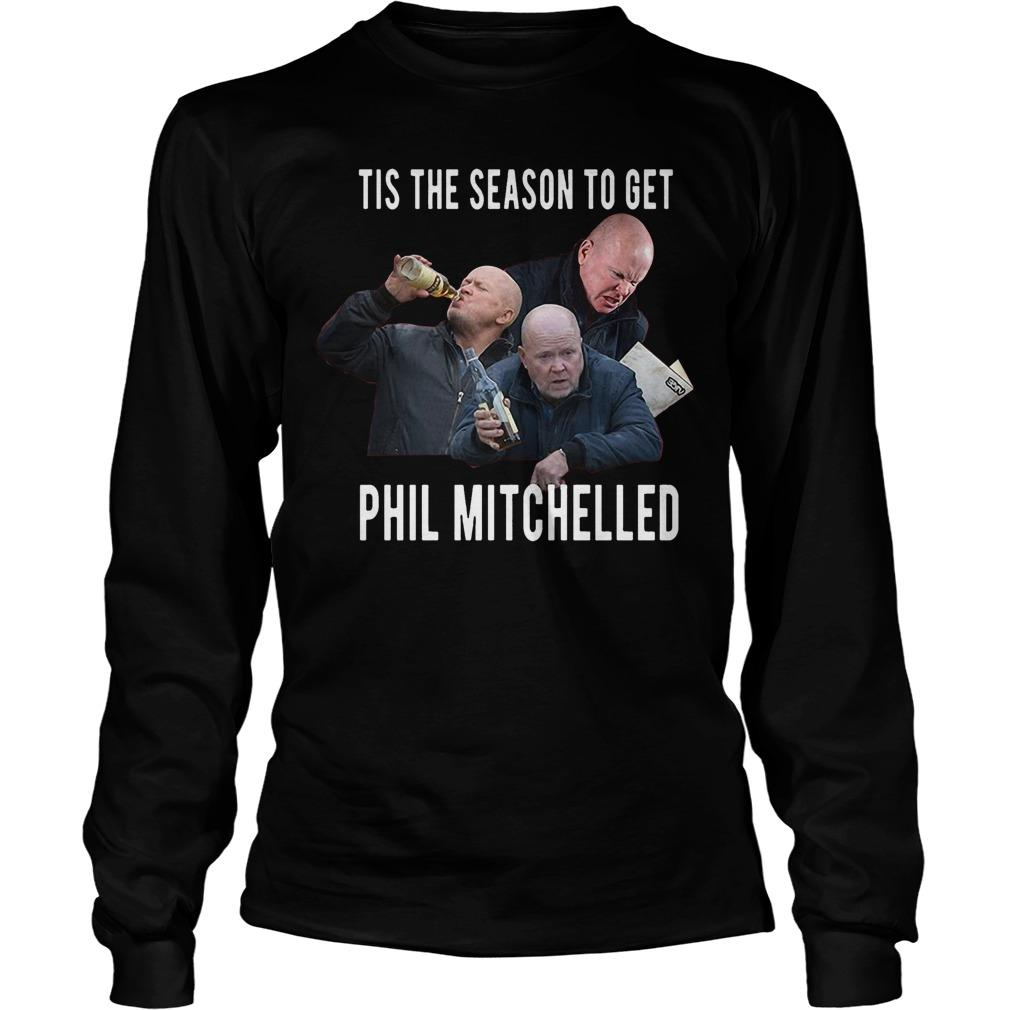 Christmas Jumper Tis The Season To Get Phil Mitchelled Longsleeve