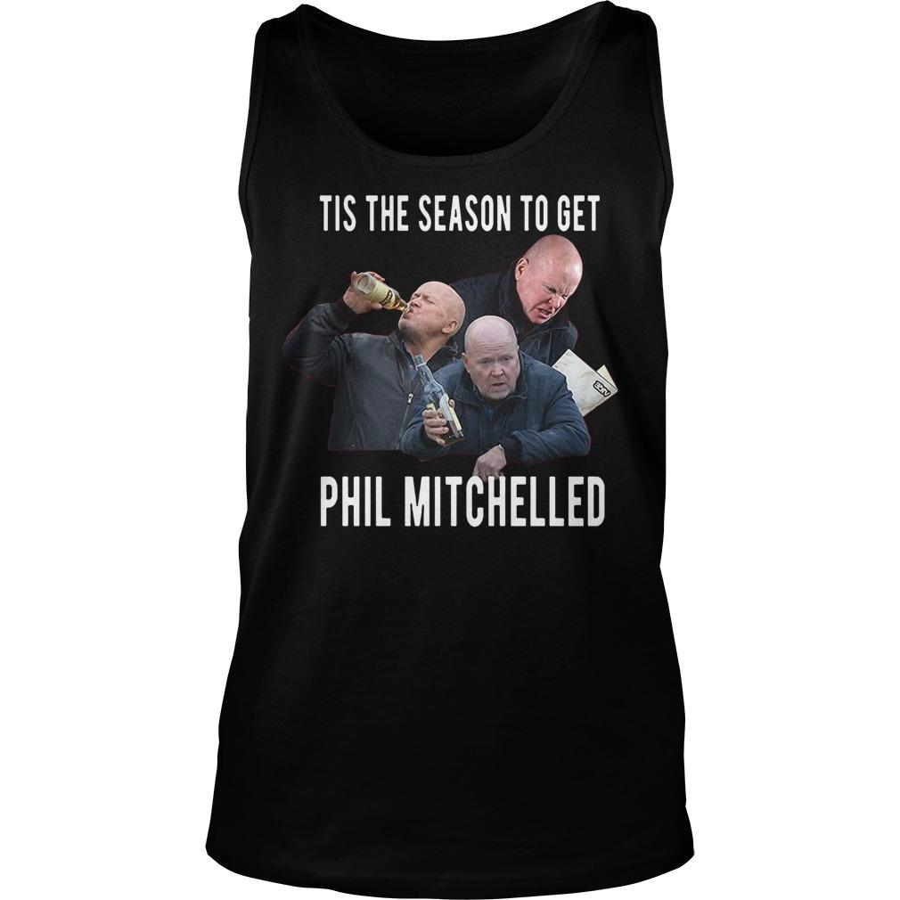 Christmas Jumper Tis The Season To Get Phil Mitchelled Tank Top