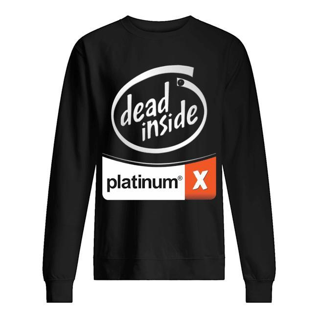 Dead Inside Platinum Sweater
