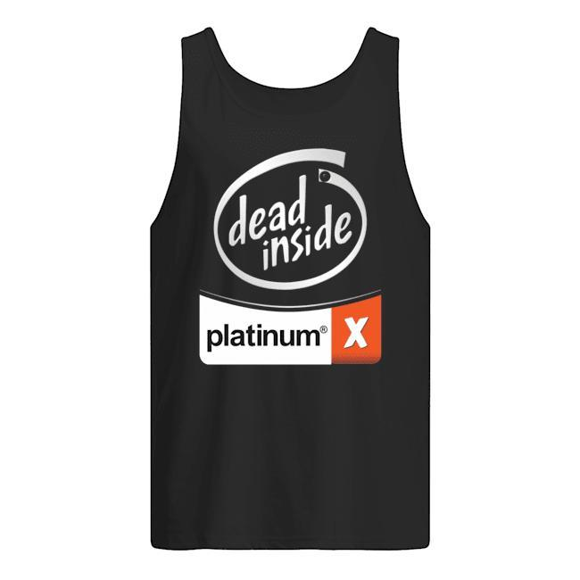 Dead Inside Platinum Tank Top