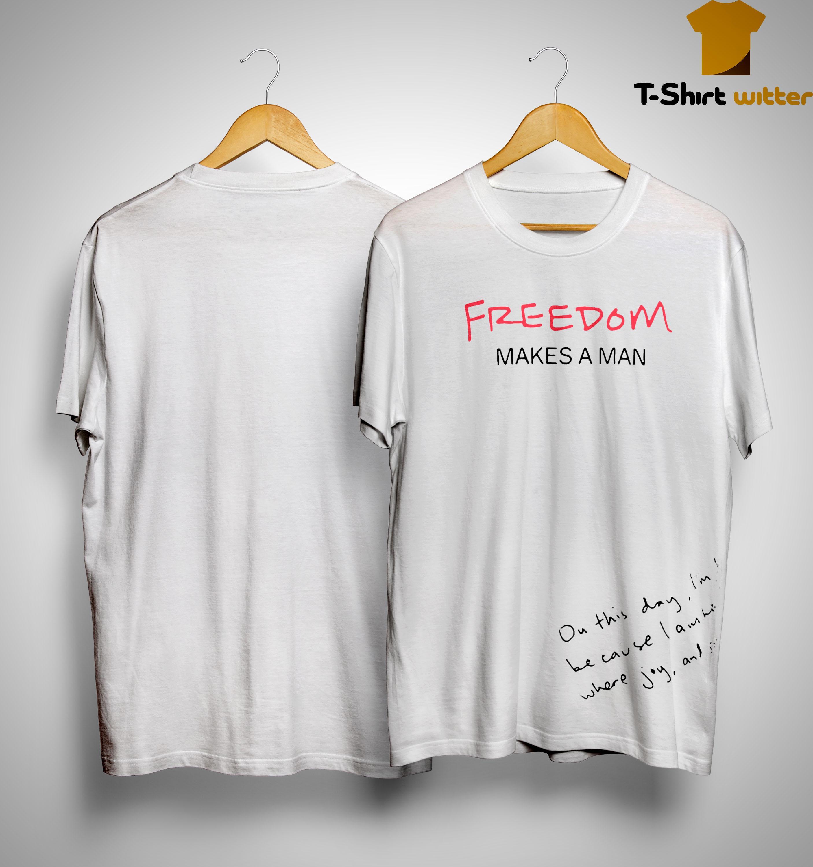 Ermenegildo Zegna Freedom Makes A Man Shirt