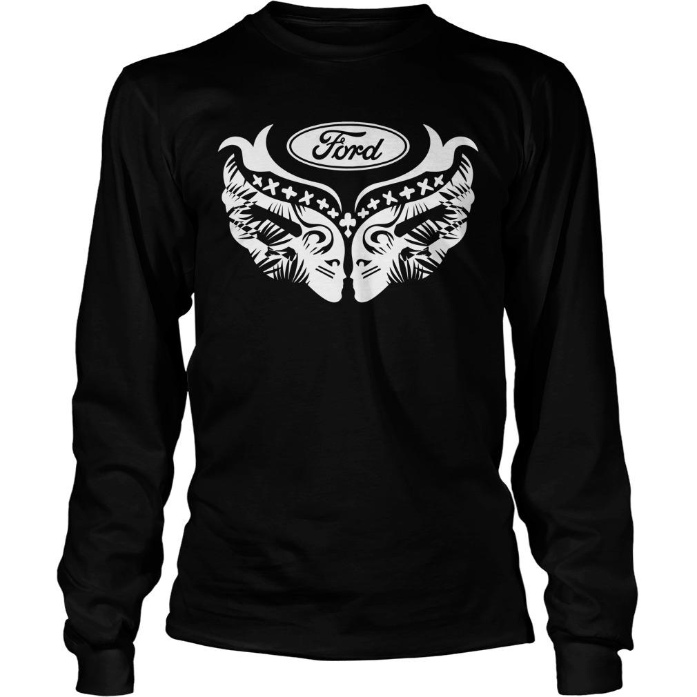 Ford Cares Warriors In Pink Longsleeve