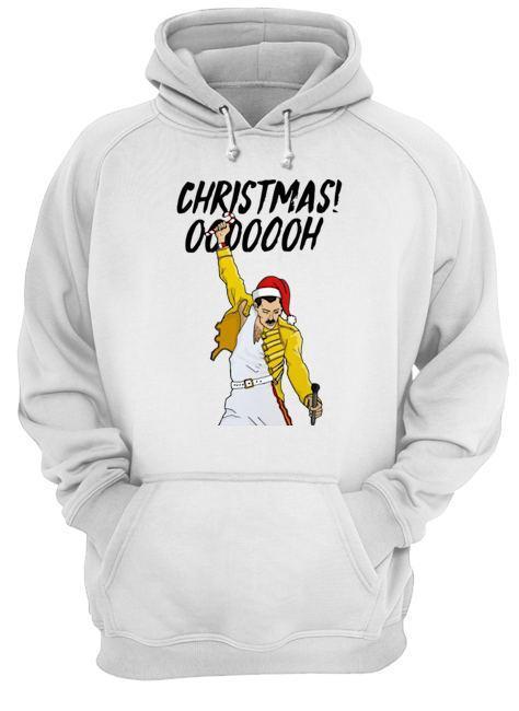 Freddie Mercury Christmas Ooooooh Hoodie
