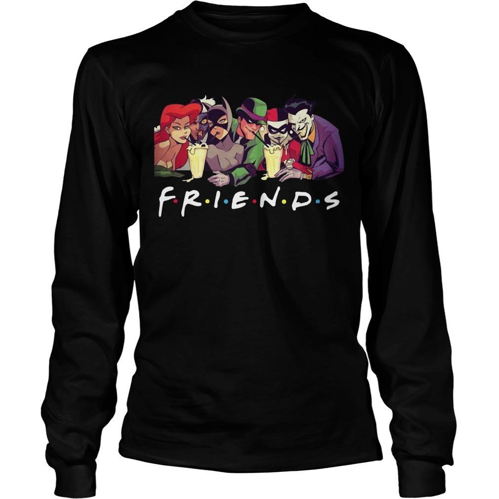 Friends Harley Quinn Joker Longsleeve