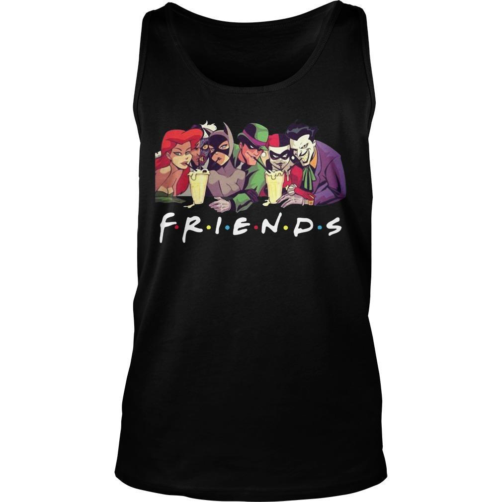 Friends Harley Quinn Joker Tank Top