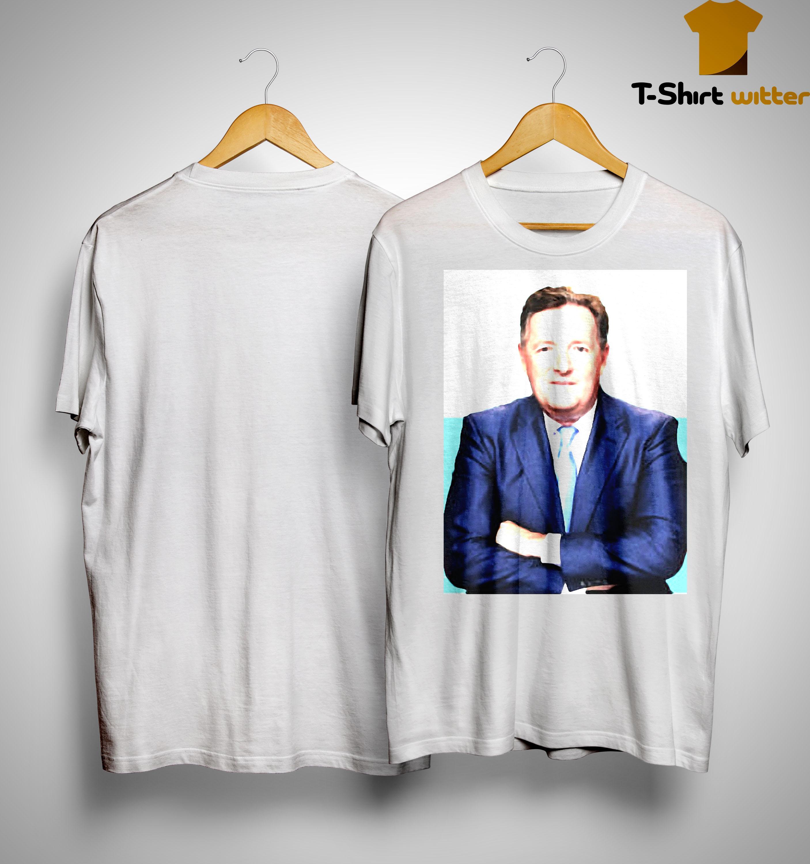 Good Morning Britain Piers Morgan Give Away Shirt