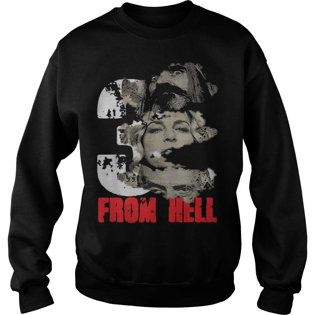 Halloween Rob Zombie Three From Hell Sweater