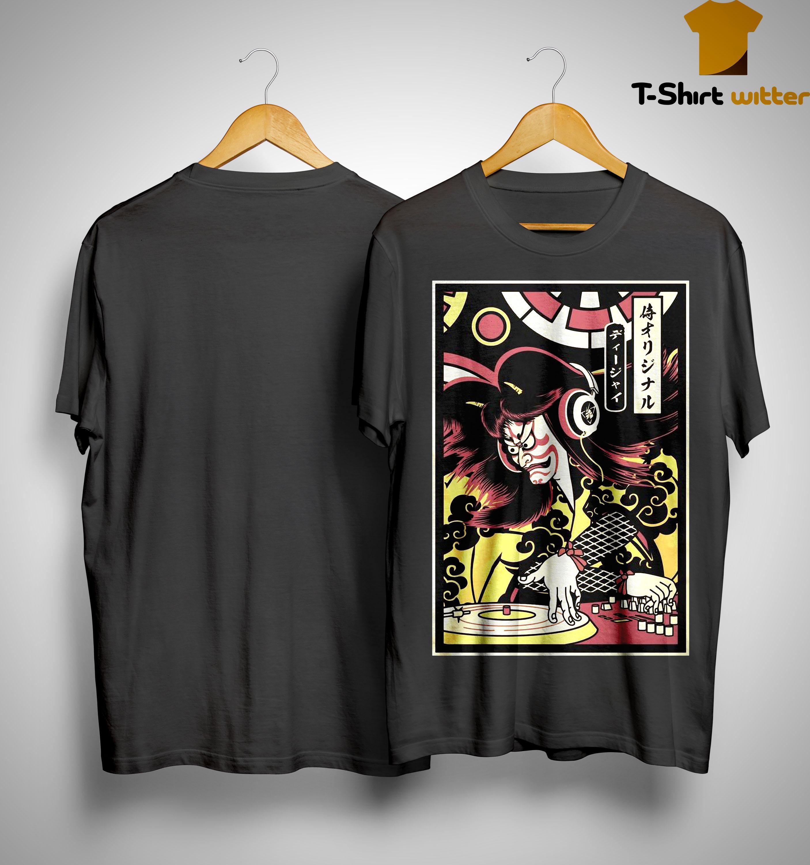 Hannya Samurai Dj Shirt