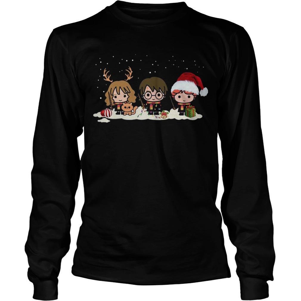 Harry Potter Characters Christmas Longsleeve