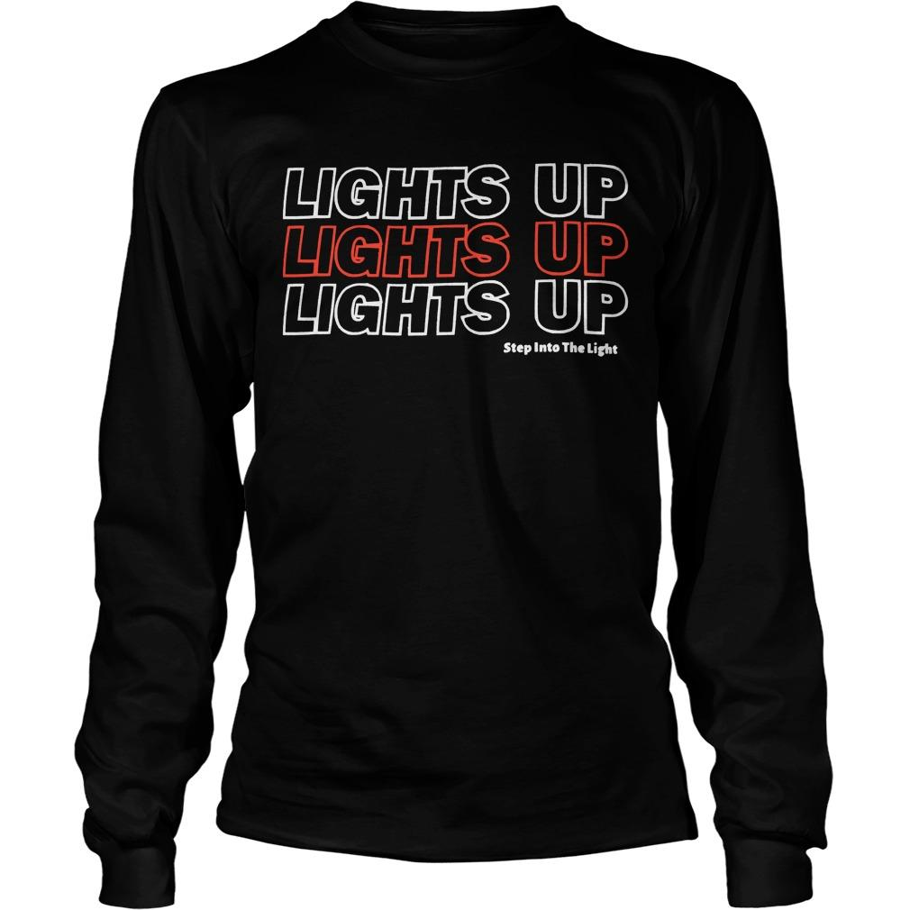 Harry Styles Lights Up Lights Up Lights Up Step Into The Light Longsleeve