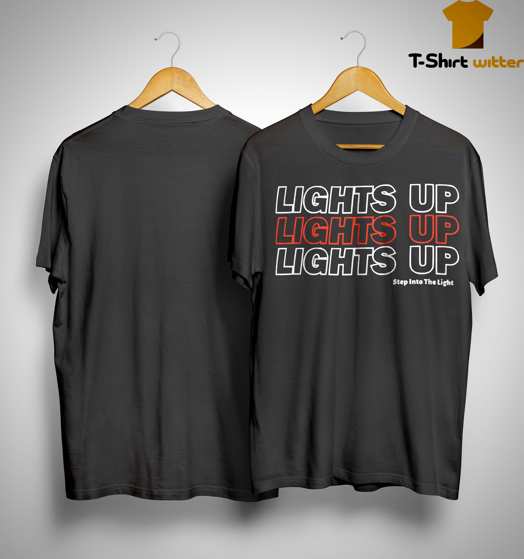 Harry Styles Lights Up Lights Up Lights Up Step Into The Light Shirt