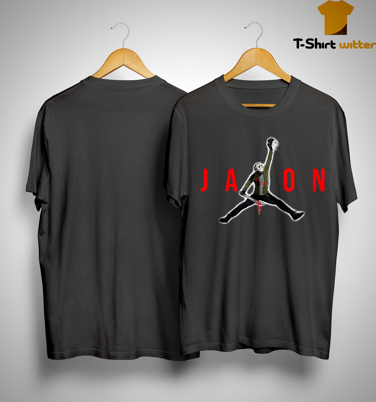 Jason Voorhees Jordan Shirt