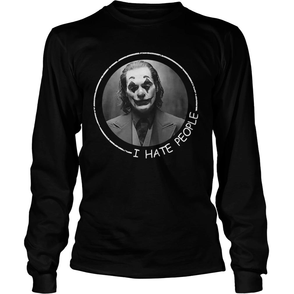 Joan Phoenix Joker I Hate People Longsleeve
