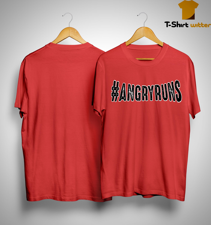 Kyle Brandt #angryruns Shirt