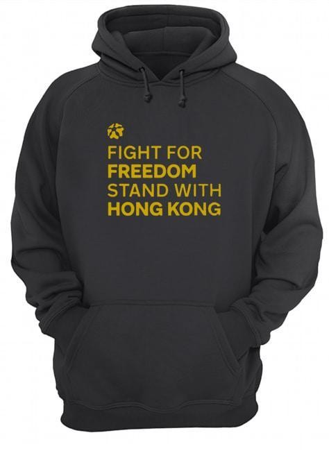 Lakers Fight For Freedom Stand With Hong Kong Hoodie