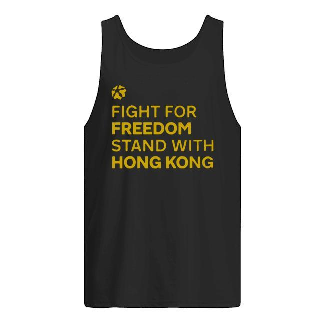 Lakers Fight For Freedom Stand With Hong Kong Tank Top
