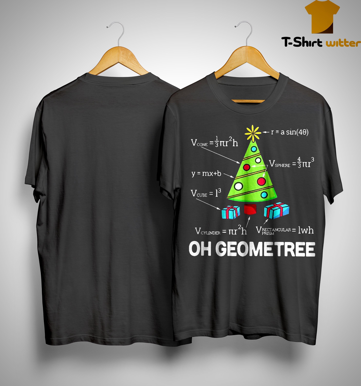 Math Oh Geometree Christmas Tree Shirt