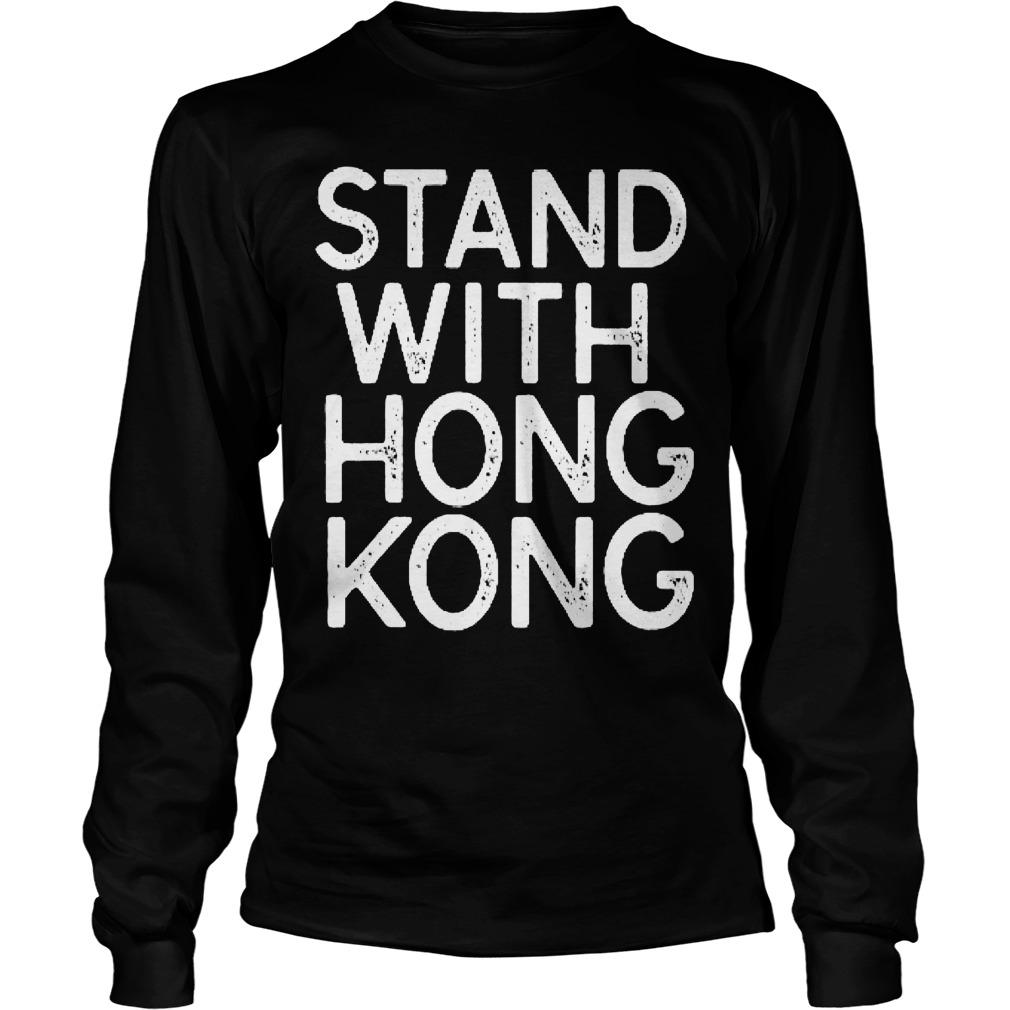 NBA Opening Night Stand With Hong Kong T Longsleeve