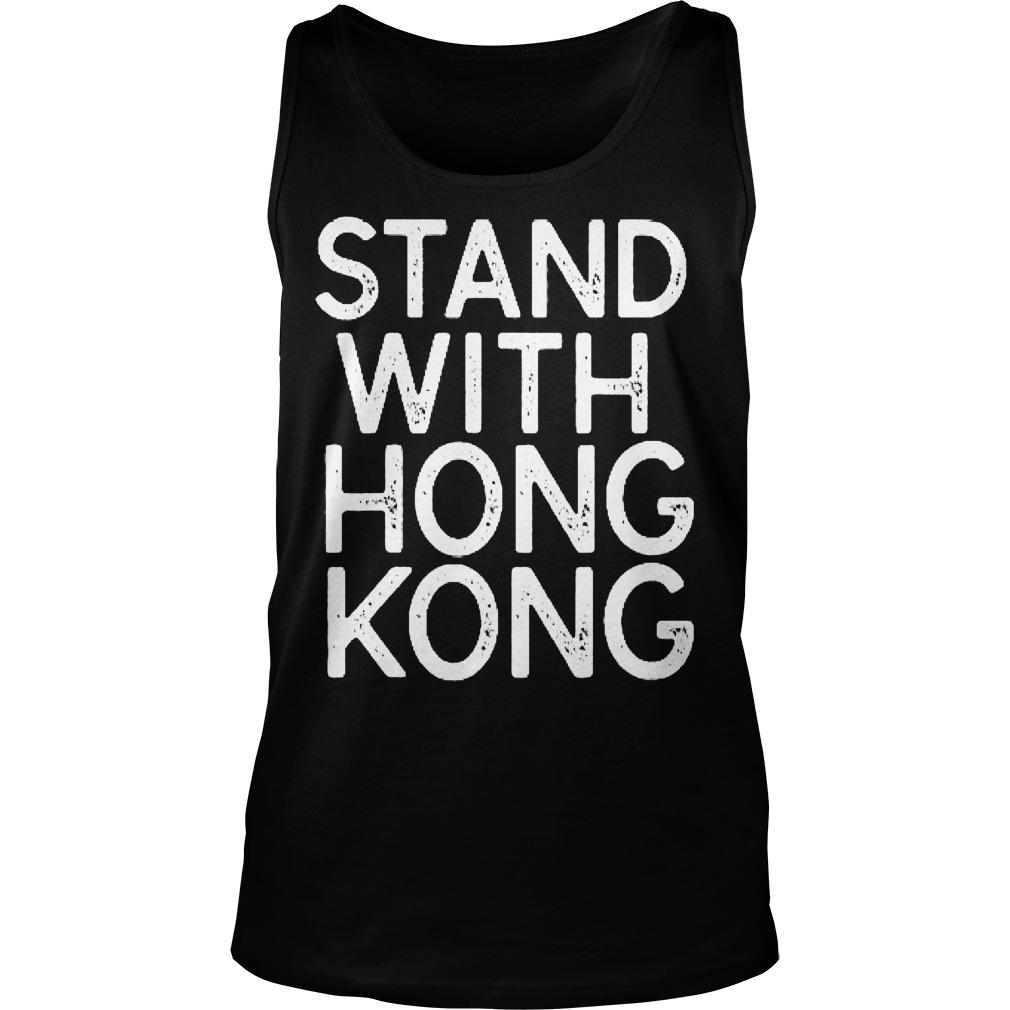 NBA Opening Night Stand With Hong Kong T Tank Top