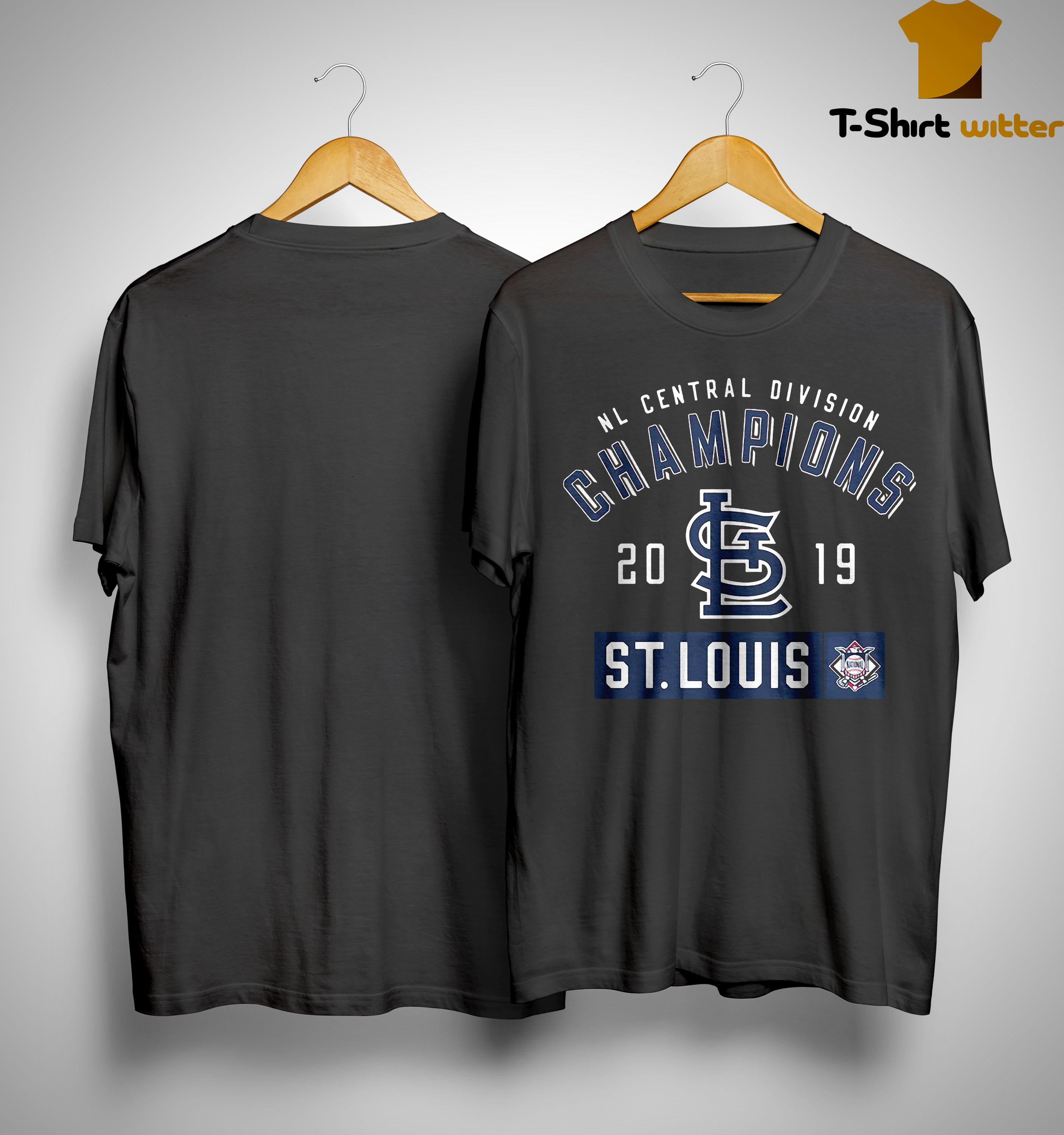 Nl Central Division Champions 2019 St Louis Shirt