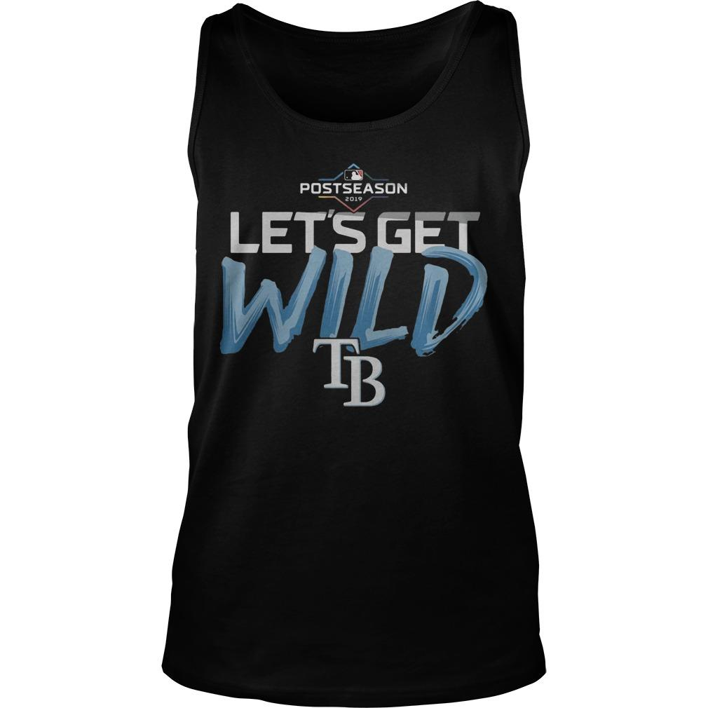 Postseason 2019 Let's Get Wild Tampa Bay Tank Top