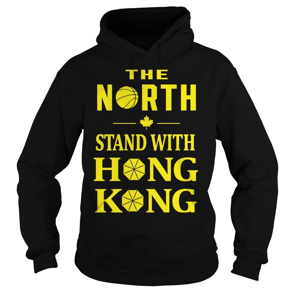 Raptors The North Stand With Hong Kong Hoodie