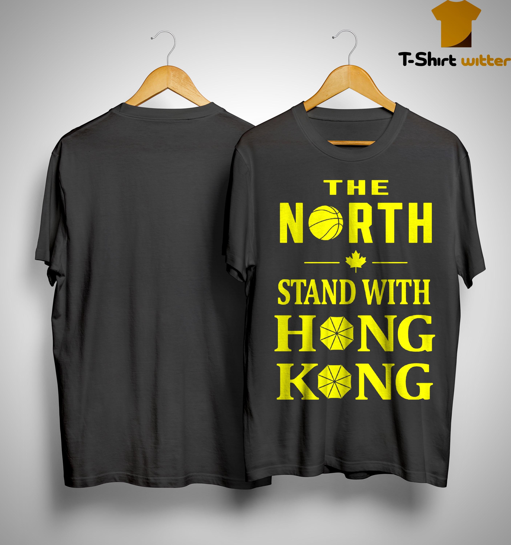 Raptors The North Stand With Hong Kong Shirt