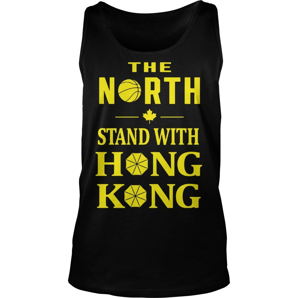 Raptors The North Stand With Hong Kong Tank Top