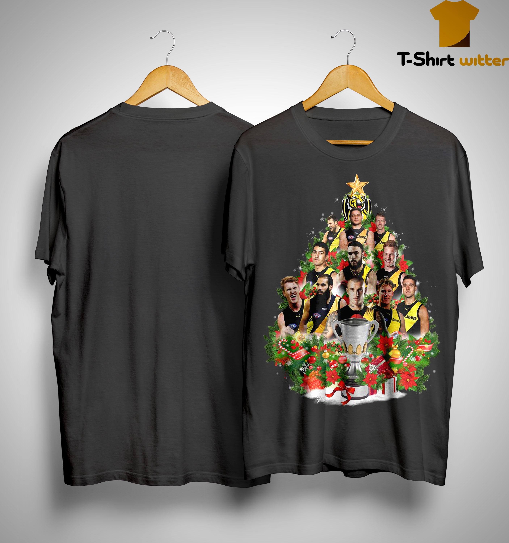 Richmond Tigers Christmas Tree Shirt