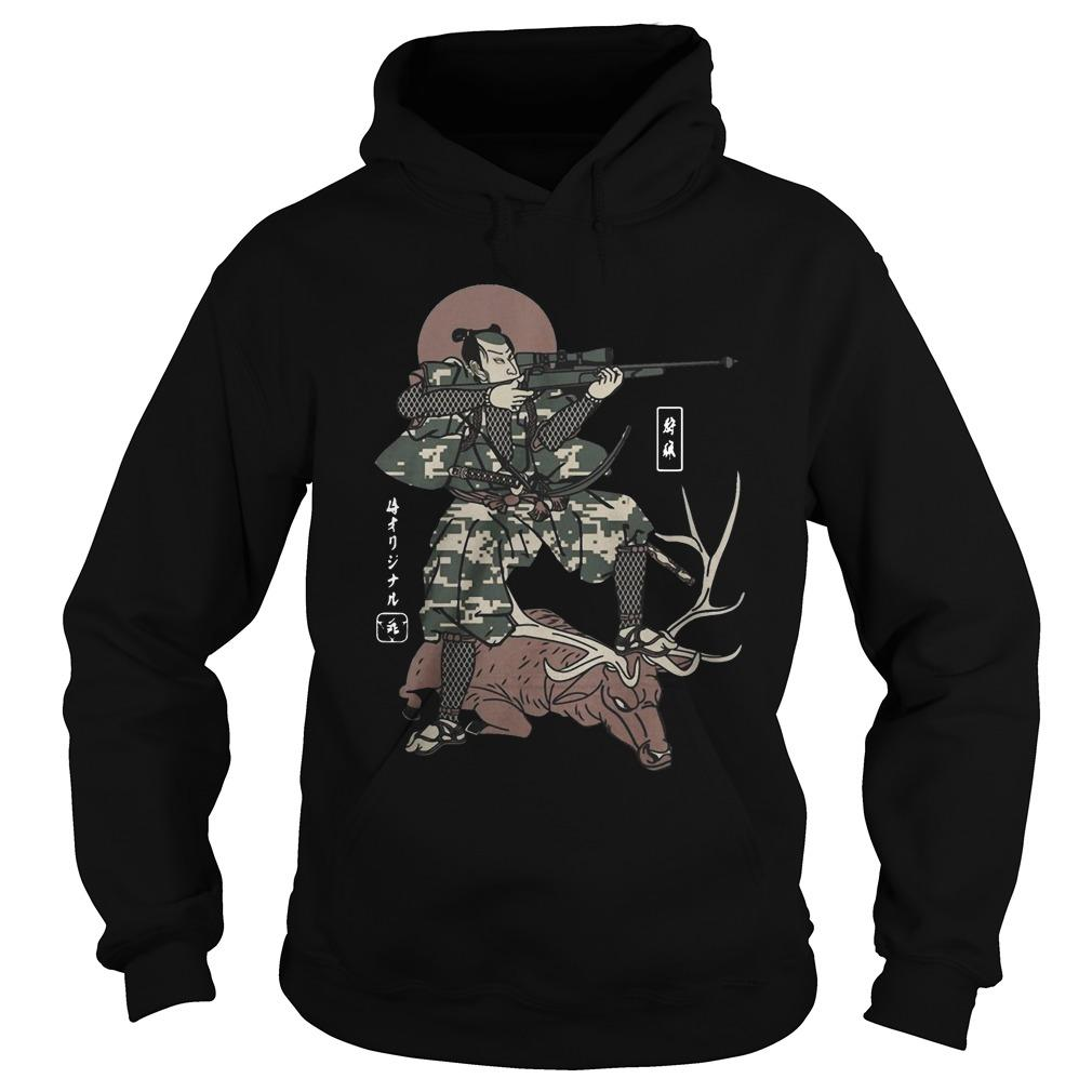 Samurai Hunting Hoodie