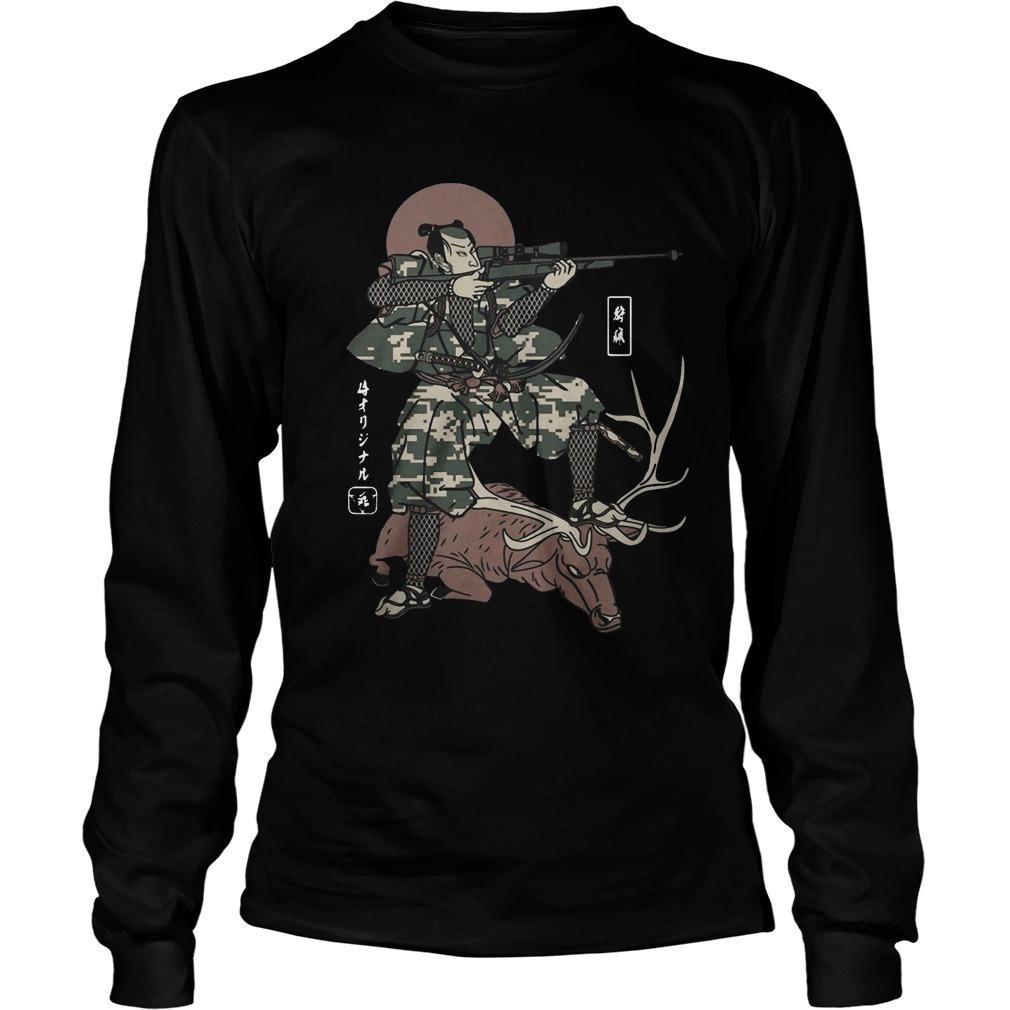 Samurai Hunting Longsleeve