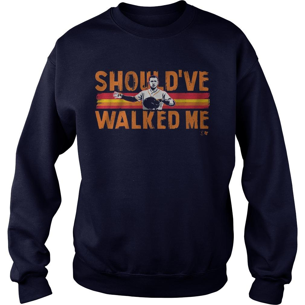 Should've Walked Me Bregman Sweater