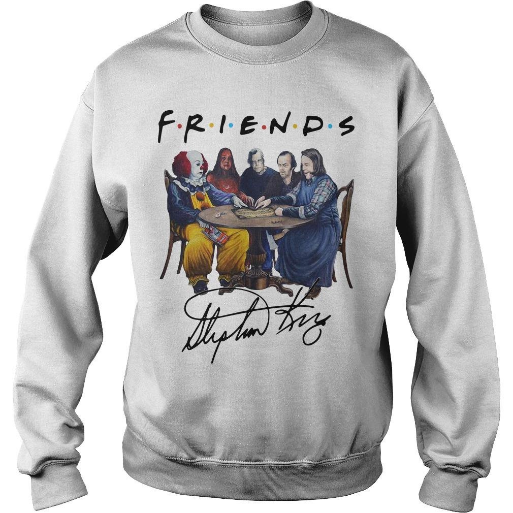 Stephen King Horror Characters Friends Signature Sweater