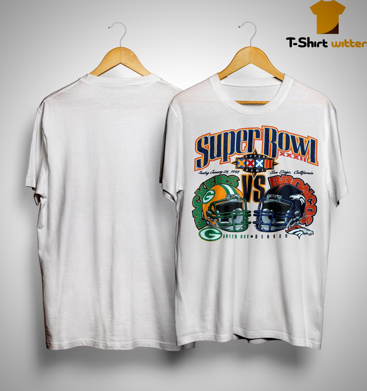 Super Bowl Green Bay Packers Vs Broncos Denver Shirt