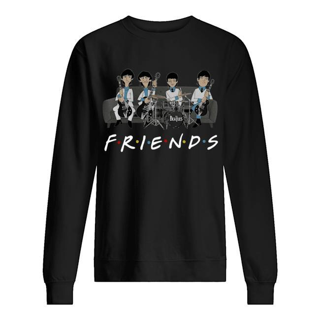 The Beatles Tv Show Friends Sweater