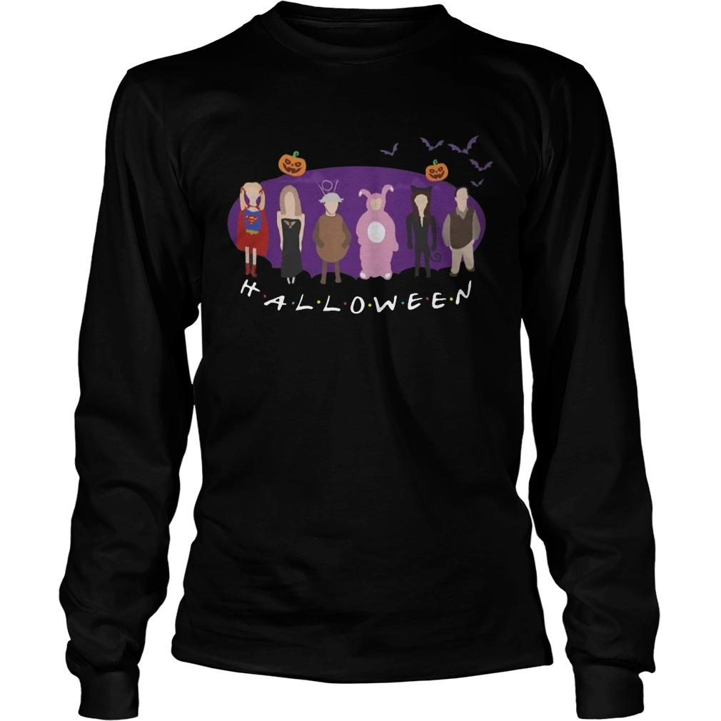 The One With Party Tv Show Friends Halloween Longsleeve