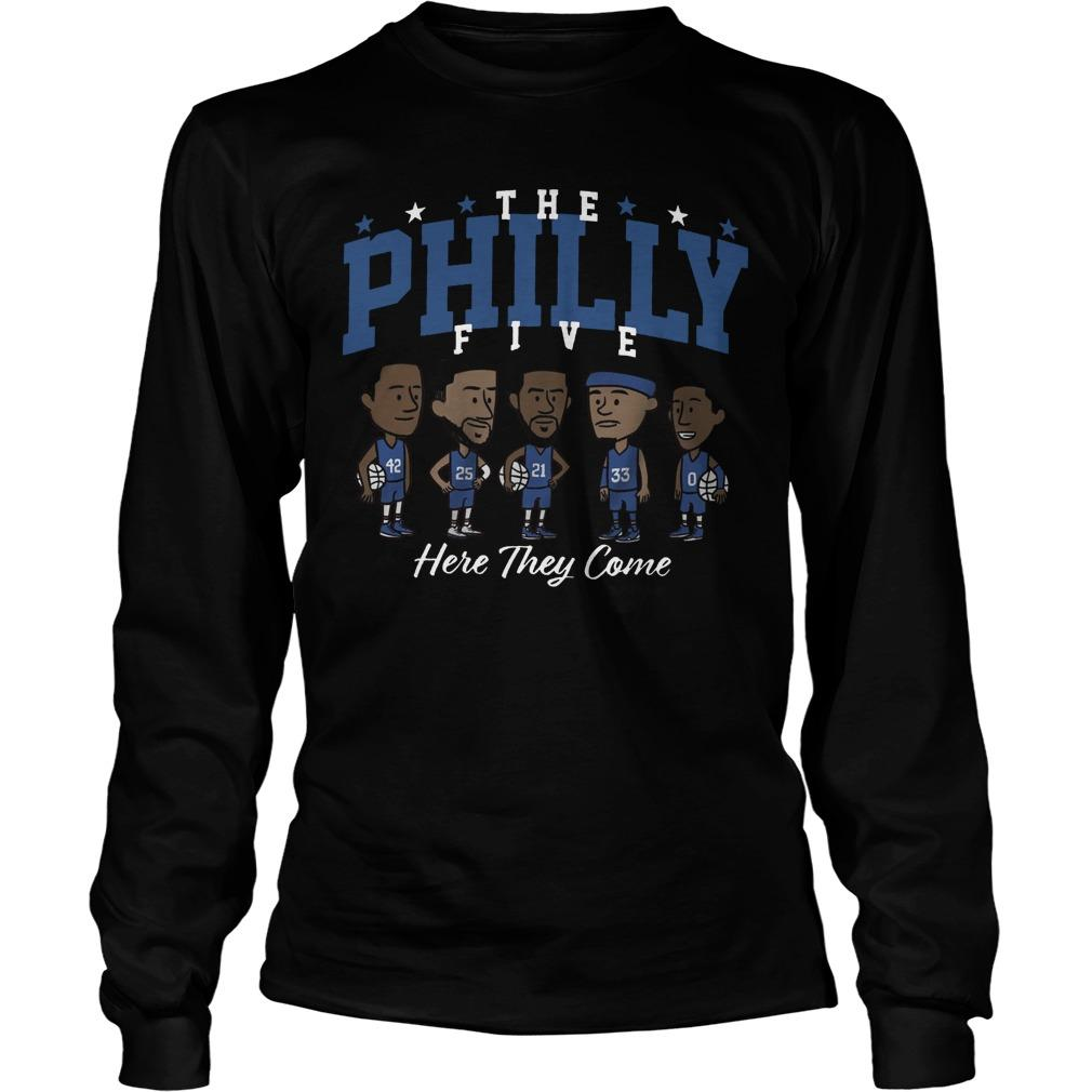 The Philly Five Here They Come Longsleeve