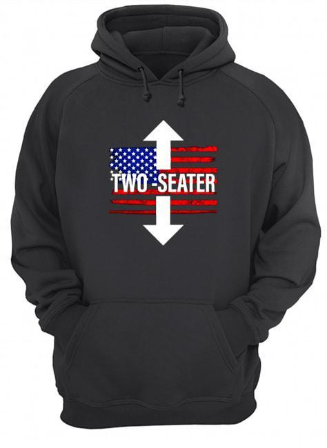 Trump Rally United States Two Seater Hoodie
