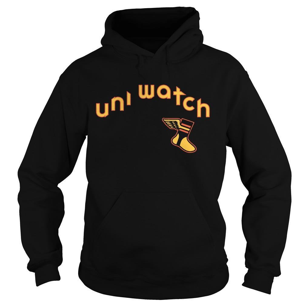 Uni Watch Brown Is Back 19 Hoodie
