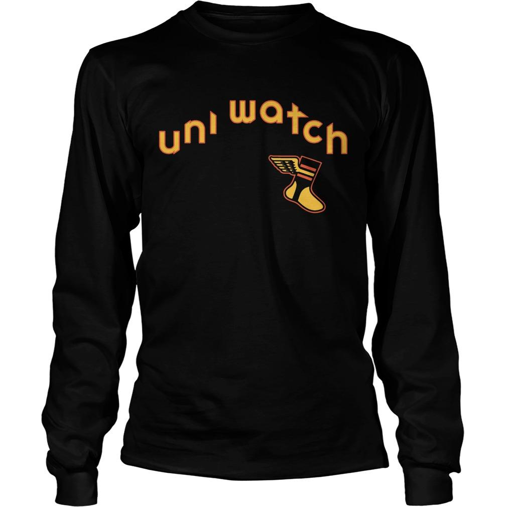 Uni Watch Brown Is Back 19 Longsleeve