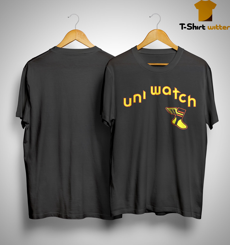 Uni Watch Brown Is Back 19 Shirt