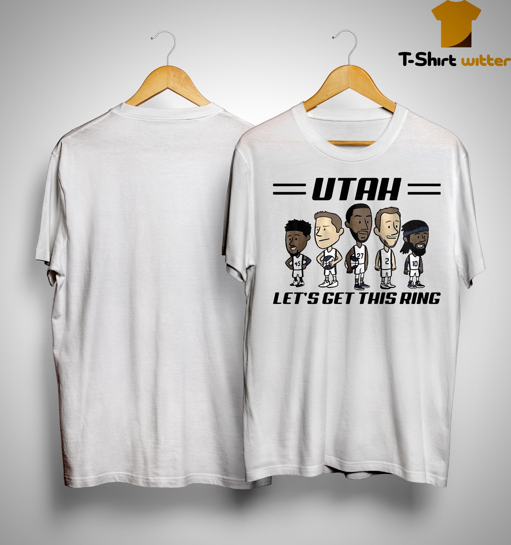 Utah Jazz Let's Get This Ring Shirt