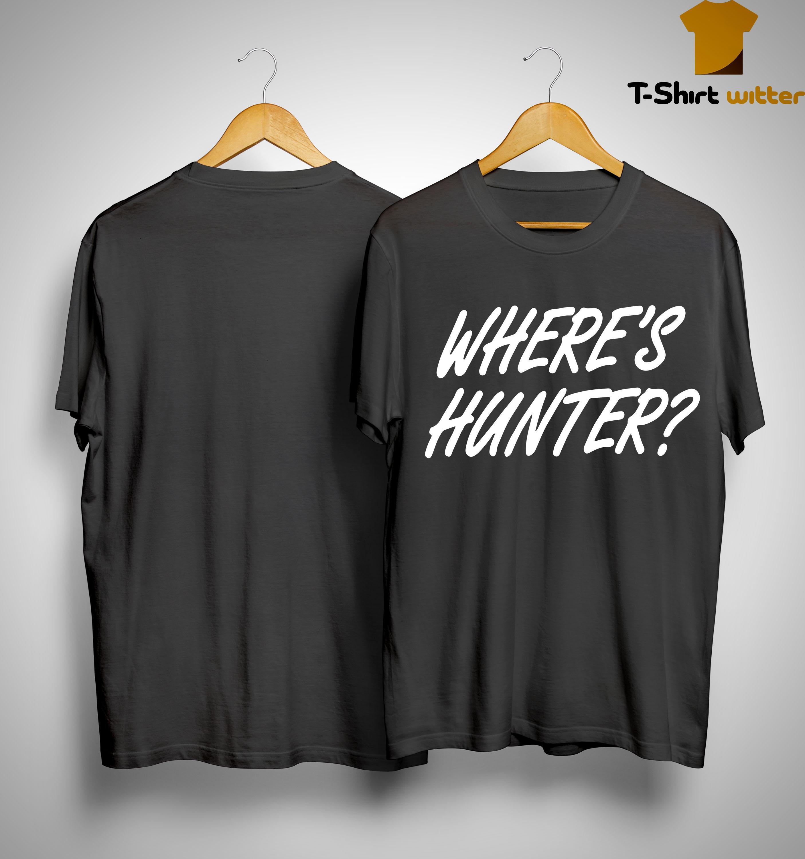 Wheres Hunter Tee Shirt