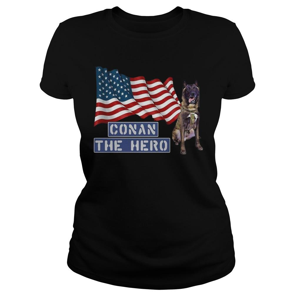 American Flag Zero Bark Thirty Conan The Hero Longsleeve