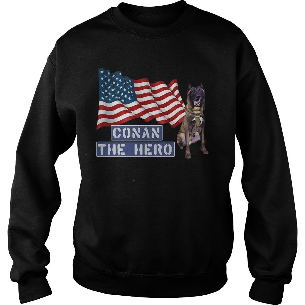 American Flag Zero Bark Thirty Conan The Hero Sweater