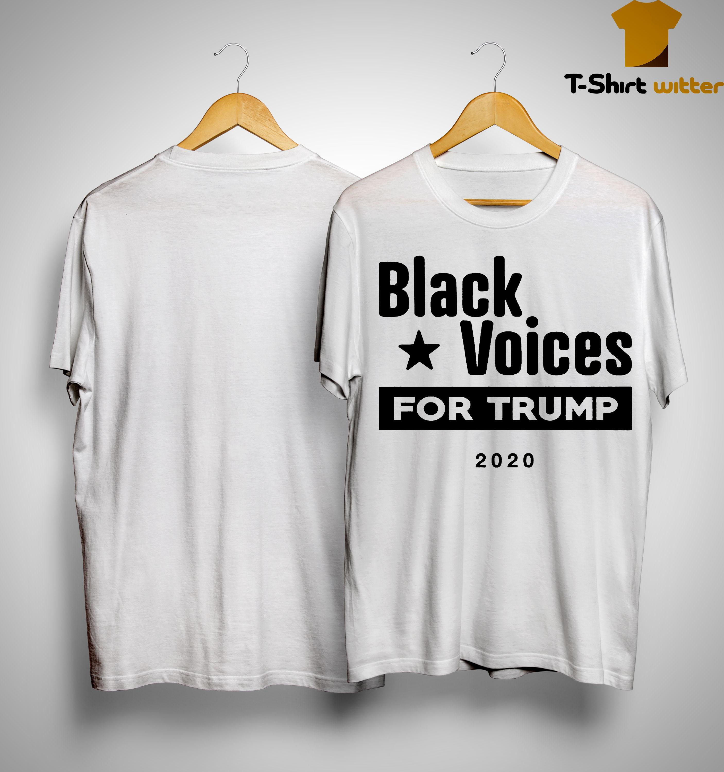Black Voices For Trump Shirt