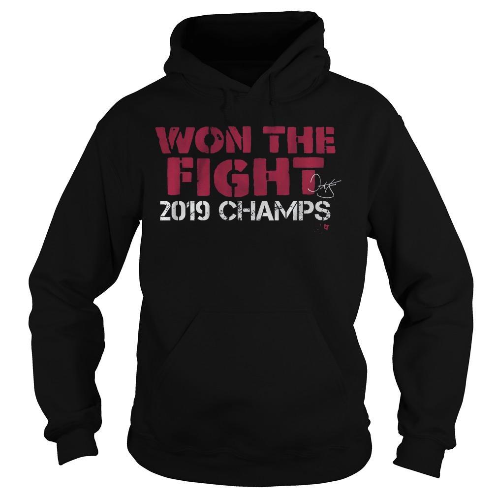 Dave Martinez Won The Fight 2019 Champ Hoodie