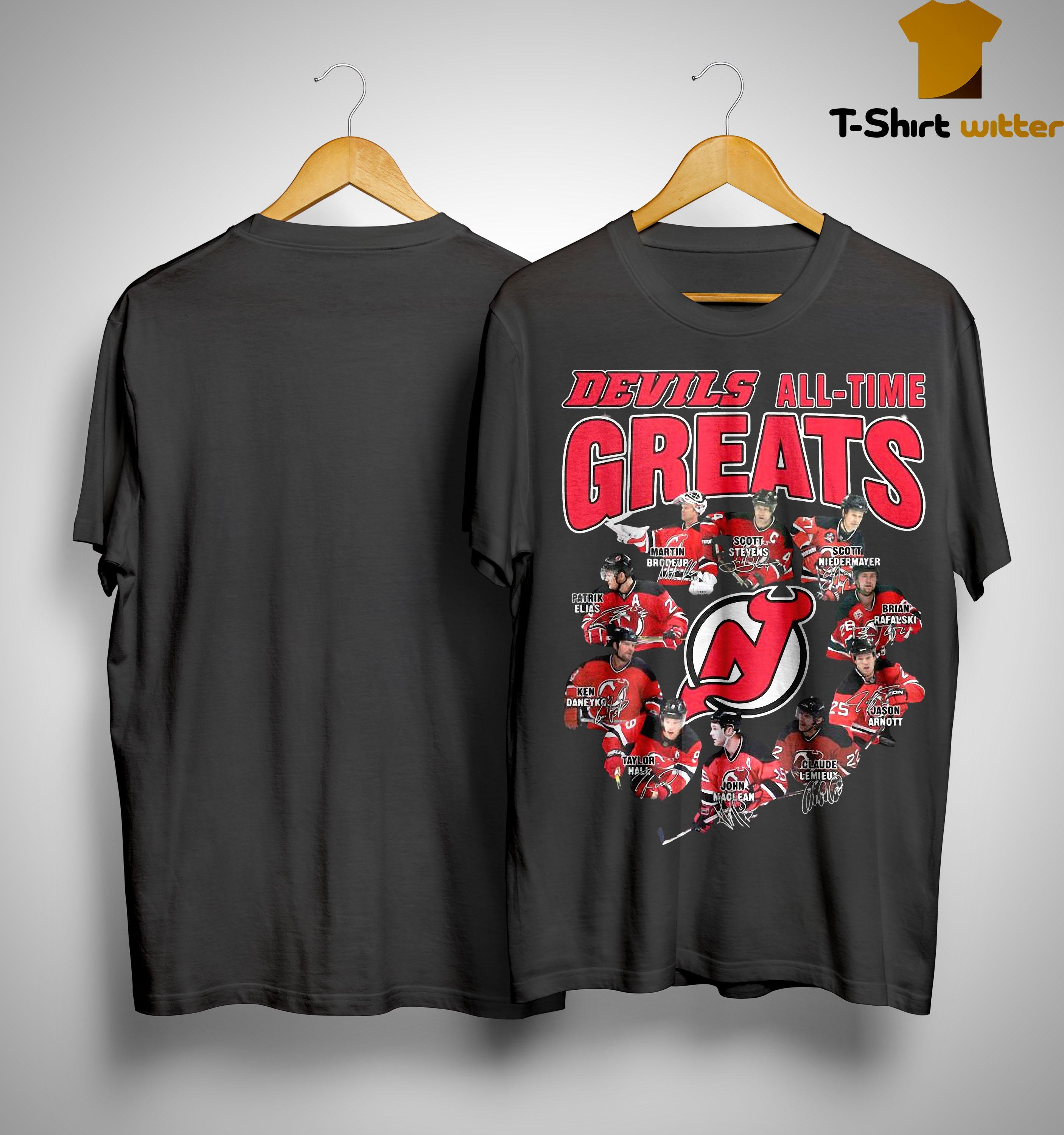 Devils All Time Greats Shirt