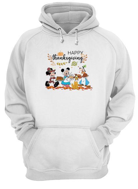 Disney Mickey Happy Thanksgiving Hoodie